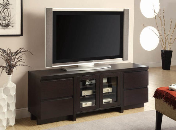 60″ 4-Drawer TV Console Cappuccino - 700695