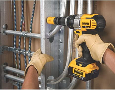 "Dewalt 1/2"" 20V 1.5 Amps Max Lithium Ion Compact 13 mm Cordless Hammer Drill / Drill Driver -High performance motor delivers power and ability completing a wide range of applications - DCD776C2"