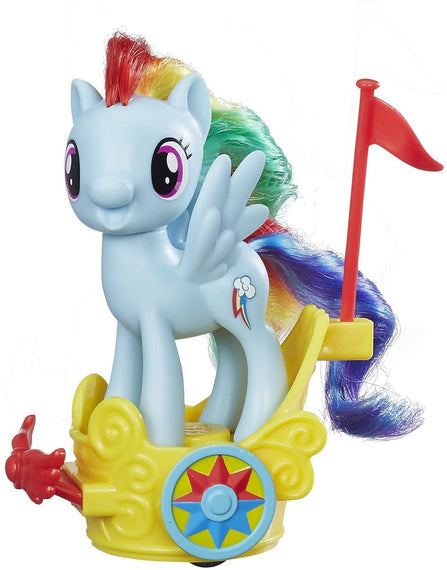 My Little Pony Rainbow Dash Royal Spin Along Chariot Doll - PN00003173