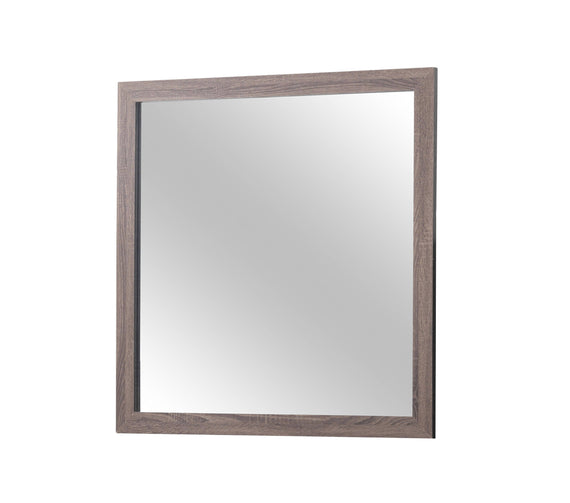 Brantford Rectangle Dresser Mirror Barrel Oak - 207044