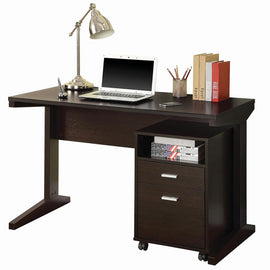 Breslin 2-Piece Writing Desk Set Cappuccino - 800916