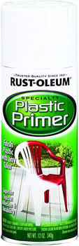 Rust-Oleum Plastic Primer, Superior Top Coat Adhesion and Durability, Indoor and Outdoor Use. Ideal for Plastic Mailboxes, Lawn Chairs, Storage Lockers and More - 209460