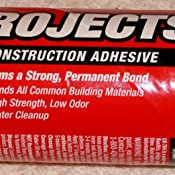PPG Liquid Nails, Interior Projects Construction Adhesive, Forms a Strong, Permanent Bond. Ideal for Plywood, Paneling, Corkboard, Molding, Drywall, Hardboard, Foam Insulation Steel and Metal Framing, Ceramic and More - LN-704