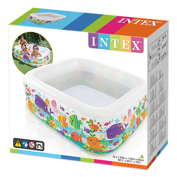 Intex Swim Center Clearview Aquarium Inflatable Pool - 57471NP