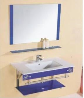 Bathroom Vanity Ceramic  with Mirror - #9067