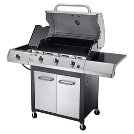 Char-Broil Performance TRU Infrared 3-Burner Gas Grill with Side Burner and Cabinet - 467650017