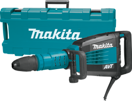Makita 27LB AVT Demolition Hammer accepts SDS‑MAX bits - HM1214C