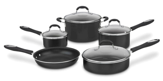 Cuisinart Advantage Nonstick 9 Piece Cookware Set (Red) - CU-55-9R