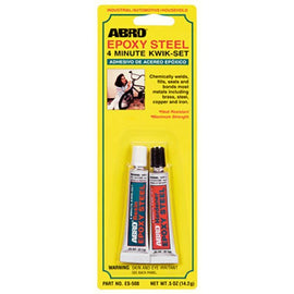 ABRO Epoxy Steel 4 Minute Kwik Set ES-508 (MAC00192)