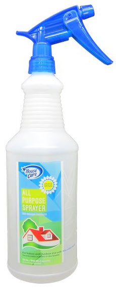 House Care White, All Purpose Spray Bottle with Print 1000ml - CH81916 HOUSE CARE MEGA