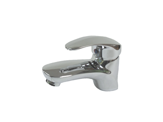 Aquarius Face Basin Mixer Polished Chrome with Pop-Up, Ideally for Powder Room and Bathroom- F0102201101