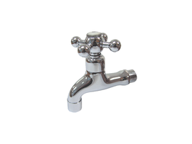 Aquarius Polished Chrome Bib Tap - 24P16