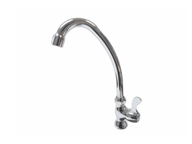 Aquarius Polished Chrome Kitchen Sink Tap - 24P22
