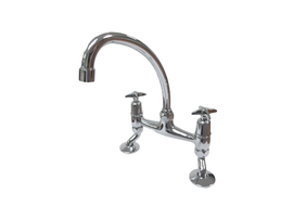 Aquarius Polished Chrome Kitchen Mixer - 24P24