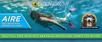Body Glove Aire Free Breathing Mask-919193
