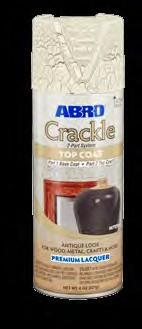 ABRO Crackle Top Coat Almond TC-200WH (MABRO061)