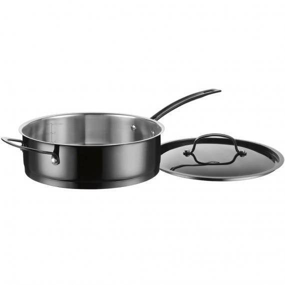 Cuisinart Mica-Shine Stainless Steel 8 Piece Cookware Set - CU-MSS-8