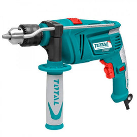 Total 850 Watt Impact Drill is a multipurpose drill which can be used for different drilling requirements. Its high power motor allows the user to easily drill and hammer the required area with ease and accuracy - UTG109136