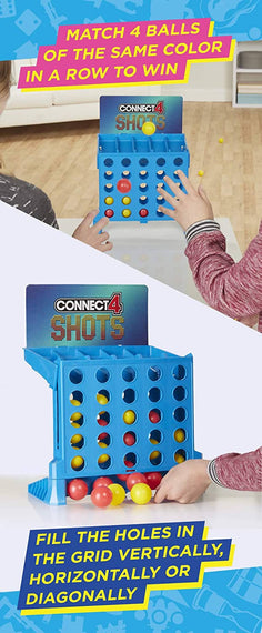 Connect 4 Shots Shooting Game - E3578