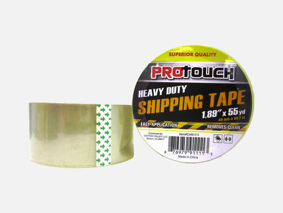 "Protouch HD Shipping Tape 1.89"" x 55 yard ideal for packaging overstuffed cartons- CH91111"