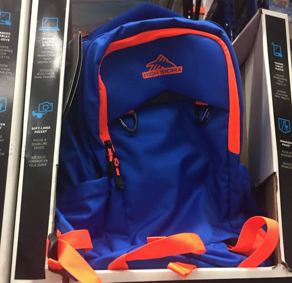 High Sierra Everyday BackpackThis cool looking super functional backpack will satisfy all your school needs and more. Its cool and simplistic look will wow your friends and peers -387131