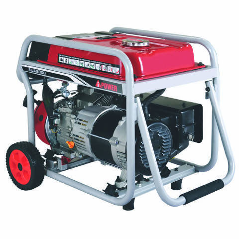 A-iPower Portable Generator 4.250 Watts - Ideal for multiple uses at the job site, home, or recreational use - 445000