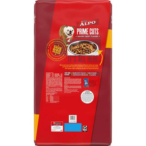 Purina Nestle Care Pro Alpo Prime Cuts Dry Pet Food, /50 lb / 411475