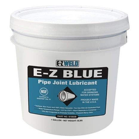 E-Z WELD - E-Z BLUE PIPE LUBRICANT 32 oz / 946 ml - Quart - 91904