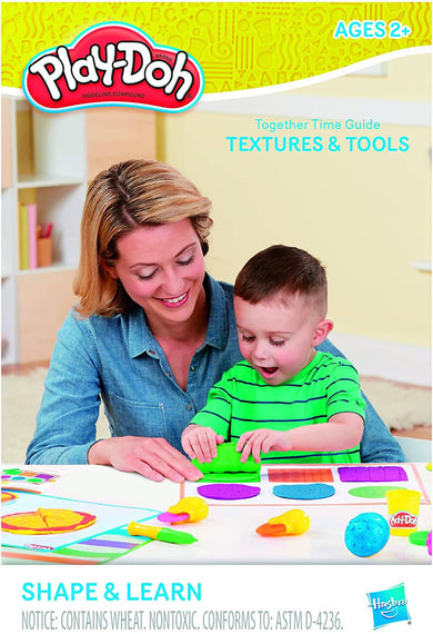 Play Doh Shape & Learn Textures and Tools Set - PN00008728