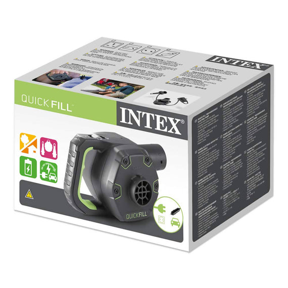Intex Quick Fill Electric Pump Rechargeable - 66641E