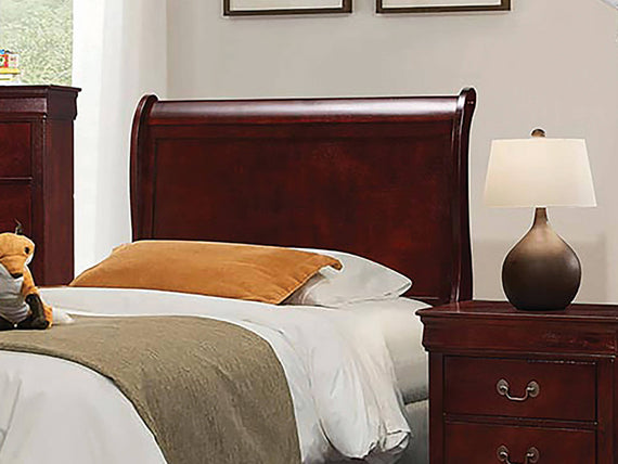 Louis Philippe Twin Sleigh Headboard Cherry - 222411TH