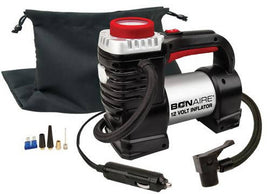 BonAire Inflator 12V - Bonaire - 603460 - Bonaire 12 Volt Inflator with Twin Cylinders for Vehicle/Bike-Tires Sports Balls