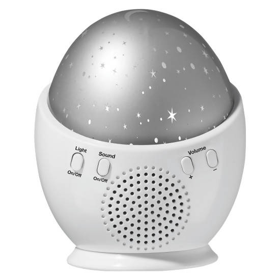 Dream Tones by Conair Night Light & Sound Machine features five LED light settings and six soothing sounds will lull you into a deep sleep - C-SU2X