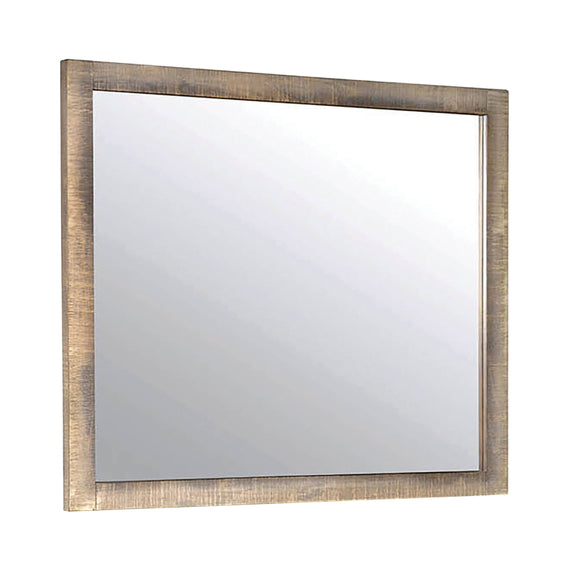 Sembene Rectangular Mirror Antique Multi-Color - 205094