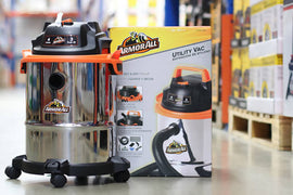 Armor All Wet/Dry Vacuum 4 gallons 2.5 Hp - 587400