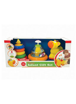 Kiddieland Infant 3 pc Gift Set Multicolor-528941