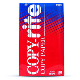 Copyrite Copy Paper Legal 8.5x14'' 10pk All Papers provide premium performance on equipment, as well as on all other printer and copier equipment -192391