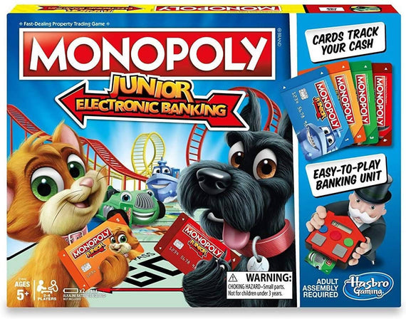 Monopoly Junior Electronic Banking - E1842