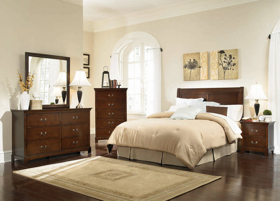 Tatiana Twin Headboard Warm Brown - 202391T