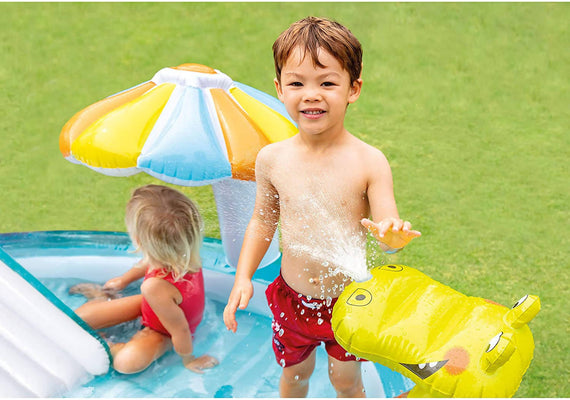 Intex Gator Inflatable Play Center - 57165NP