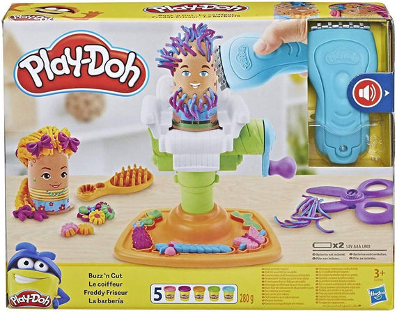 Play-Doh Buzz 'n Cut Fuzzy Pumper Barber Shop Set - PN00029979