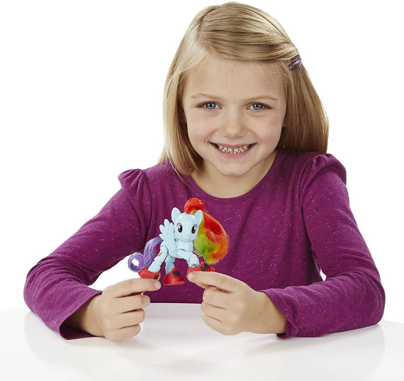 My Little Pony Friendship is Magic Sightseeing Pose-able Rainbow Dash - PN7566190100