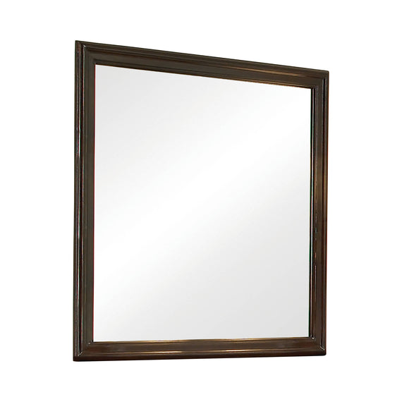 Tatiana Square Mirror Warm Brown - 202394