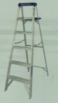 Tool Craft Aluminium Ladder 6 Step 200 LBS - TC3209