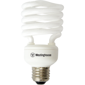 Westinghouse Full Spiral Fluorescent Bulbs(CFL) E27 15,19,26,32 Watt 120 Volts Daylight
