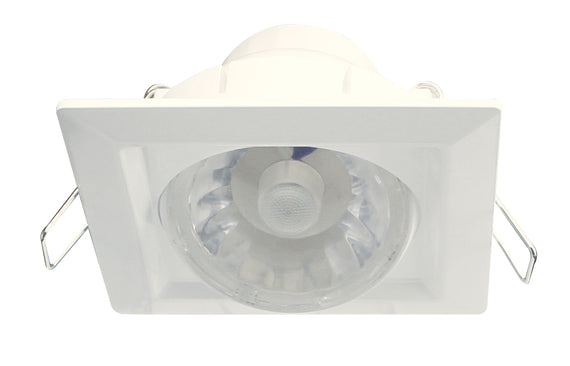 Westinghouse 4 Inch Square Swivel LED Dimmable,550 Lumens, 110 Volts,Color Temp, 38785