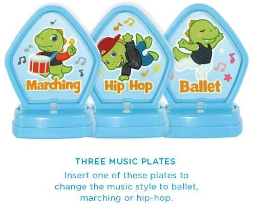 Vtech Learn & Dance Dino Green - 80-518703