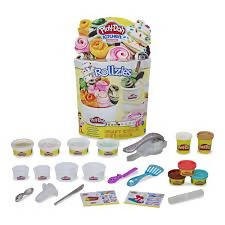 Play-Doh Kitchen Creations Roolzies Ice Cream Set - 630509861019