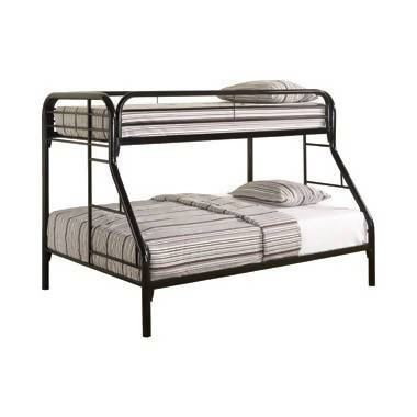 Morgan Twin Over Full Bunk Bed Black - 2258K