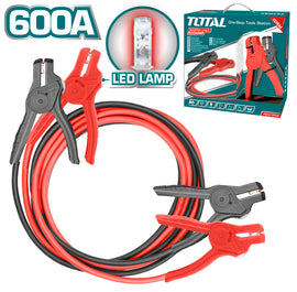 Total Booster Cable with Lamp 600 Amp- PBCA16008L